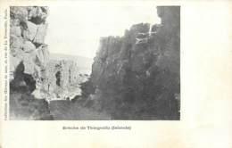 Islande - Island - Breche De Thingvalla (before 1904) - Islande
