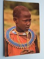 MASAI Girl ( Photokin - Mombasa ) Anno 19?? ( Zie Foto Voor Details ) ! - Kenya