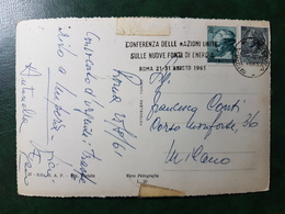 (5072) ITALIA STORIA POSTALE 1961 - 1946-.. République