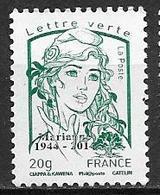 France 2013 N° 4774B Marianne De Ciappa Surchargé Cote 25 Euros - 2013-... Marianne Of Ciappa-Kawena