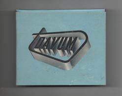 ETUI VIDE DE 20 CIGARETTES GITANES CAPORAL - PUBLICITE - DAVUM - Empty Cigarettes Boxes