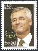 BRAZIL 2014  -  Hommage To Ambassador Sergio Vieira De Mello - UPAEP - UN - ONU - Brazil