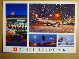 AIRPORT / FLUGHAFEN / AEROPORT     ZURICH KLOTEN  A 340 / A 320   SWISS - Aerodromi