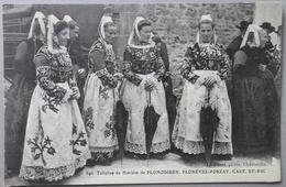 CPA 29 PLOMODIERN, PLONEVEZ-PORZAY, CAST - ST. NIC -Toilettes De Mariées - Le Doaré 846 - Réf. O 18 - Plomodiern