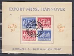 Export Messe Hannover - Foire De Hannovre - Einschl. Aufbauspende (68) - Zona Anglo-Americana