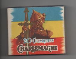 ETUI VIDE DE 20 CIGARETTES CHARLEMAGNE - TABACS REIG - Empty Cigarettes Boxes