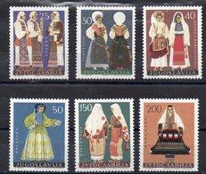 YOUGOSLAVIE Timbres Neufs ** De 1964 ( Ref 2632 B ) Costumes - 1945-1992 Socialist Federal Republic Of Yugoslavia