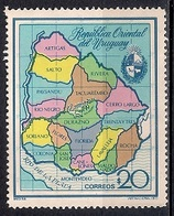 Uruguay 1973 - Uruguayan Departments - Uruguay