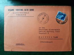 (5129) ITALIA STORIA POSTALE 1961 - 1961-70: Storia Postale