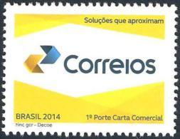 BRAZIL 2014  -  Brazilian Post New Logo - Correios  - Mint - Brasil