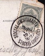 ARMOIRIES 81 S/CP SUPERBE TAMPON * Quinzaine D'aviation De Stockel - L C.Stockel Aviation * - Luchtvaart 3/8/1910 - Postmark Collection