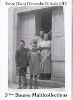 VABRE (Tarn)  5 ème Bourse Multicollections - Bourses & Salons De Collections