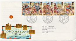 Great Britain Set On Used FDC - Other