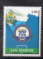 SAINT MARIN  Timbre Neuf ** De 2004  ( Ref 2635 ) Sport - Football- FIFA - Saint-Marin