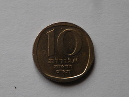 Israel  10 New  Agorot   1980   Bronze De  Nickel    Km#108  TTB - Israel