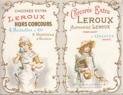 """Calendrier  De 1976  """" CHICORÉE  LEROUX """" - Small : 1971-80"""