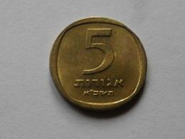 Israel  5   Agorot   1961   Alu Bronze      Km#25   TTB - Israel