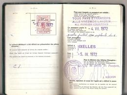 Passeport Belge (1972) - Old Paper