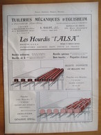 1926 - TUILLERIE MECANIQUES D'Eguisheim  - Page Originale ARCHITECTURE INDUSTRIELLE - Architecture