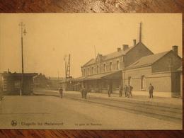 Chapelle-lez-Herlaimont La Gare De Bascoup(station)1914 - Chapelle-lez-Herlaimont