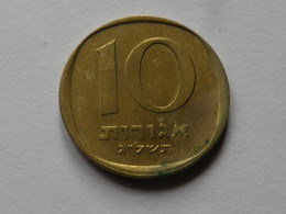 Israel 10   Agorot   1977   Alu Bronze      Km#26   TTB - Israel