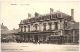 44 NANTES - La Gare De L'Etat - Nantes