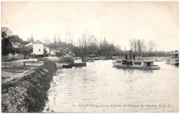 44 VERTOU - Arrivée Du Bateau De Nantes - Francia
