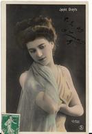 PHOTOGRAPHE REUTLINGER - JANE DIRYS - Carte  Glacée - Autres Photographes