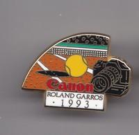 Pin's Arthus Bertrand Canon Rolland Garros 1993 Réf 7702JL - Tennis