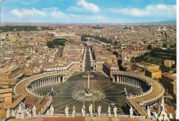 CITE DU VATICAN PLACE SAINT PIERRE VUE AERIENNE - Vatican