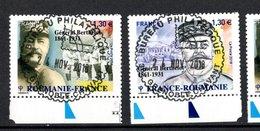France 2018.France-Roumanie.Général Berthelot.Cachet Rond.Gomme D'origine - France