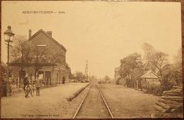 Merchtem-Peisegem Statie(station) Zeer Zeldzaam - Merchtem