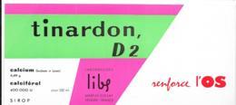 Buvard Pharmaceutique - Tinardon D2 - Produits Pharmaceutiques