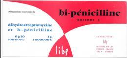 Buvard Pharmaceutique - Bi-pénicilline - Produits Pharmaceutiques