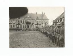 Photo Authentique Château Saint-Benoît - Militaires Allemandes (1916). - Vigneulles Les Hattonchatel