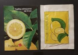 2 TOALLITAS REFRESCANTES DE LIMÓN. - Otras Colecciones
