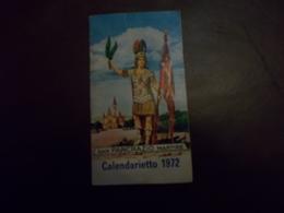 B703 Calendarietto San Pancrazio 1972 Cm11x6 - Calendari