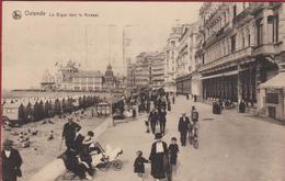 Ostende Oostende La Digue Vers Le Kursaal Strandcabines (En Très Bon Etat) (In Zeer Goede Staat) - Oostende