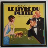 """Linda Hannas """"Le Livre Du Puzzle"""" 1 Livre Sur L'histoire Du Puzzle Et 2 Puzzles TBE - Autres Collections"""