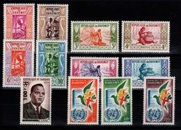 Dahomey - Année 1961 N** : YV 159 à 169 + PA 20 N** - Benin – Dahomey (1960-...)