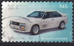 Allemagne 2018 Oblitéré Used Voitures Classiques Audi Quattro SU - [7] République Fédérale