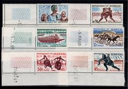Senegal  - YV 204 + YV 205 à 209 Tous N** Petit Coin Date - Sénégal (1960-...)