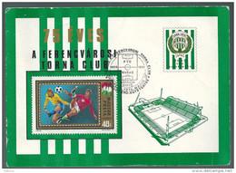 2655 Hungary SPM Stadium Opening Football Soccer Match Ferencvaros-Vasas RARE - Marcophilie