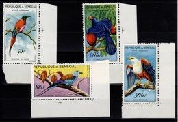 Senegal  - YV PA 31 à 35 Sauf 34 Soit 31 / 32 / 33 / 35 N** Oiseaux - Sénégal (1960-...)