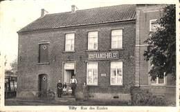 Tilly - Rue Des Ecoles (animée, Cie Franco-Belge, Edit. Maison Botten) - Villers-la-Ville