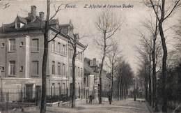 Forest - L'Hôpital Et L'avenue Duden (animée, Edit. F. De Clerck 1909) - Vorst - Forest