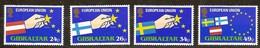 Gibraltar 1995 Yvertn° 715-18 *** MNH Cote 7 Euro - Gibraltar