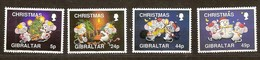 Gibraltar 1993 Yvertn° 688-691 *** MNH Cote 7,00 Euro Noël Kerstmis Christmas - Gibraltar