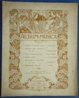 PARTITION REVUE ALBUM-MUSICA OCTOBRE 1902 MASSENET PALADILHE THOMÉ CHAMINADE ELSEN SERPETTE AUTOGRAPHES ART NOUVEAU - Musique & Instruments
