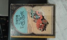 TINTIN AU PAYS DE L OR NOIR- 4 EME PLAT- B19-1956- ETAT B - Tintin